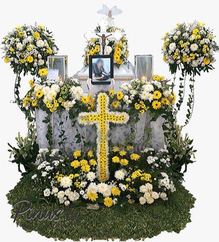 Bunga Papan Duka Cita - Bunga Peti Mati 3