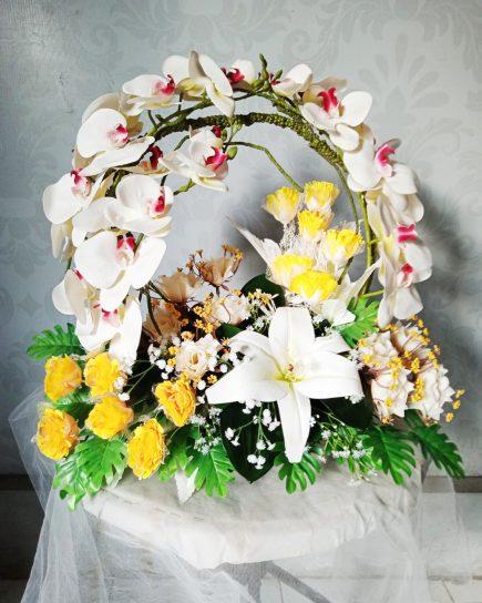 Bunga Artificial Surabaya - Charming Roses Artificial
