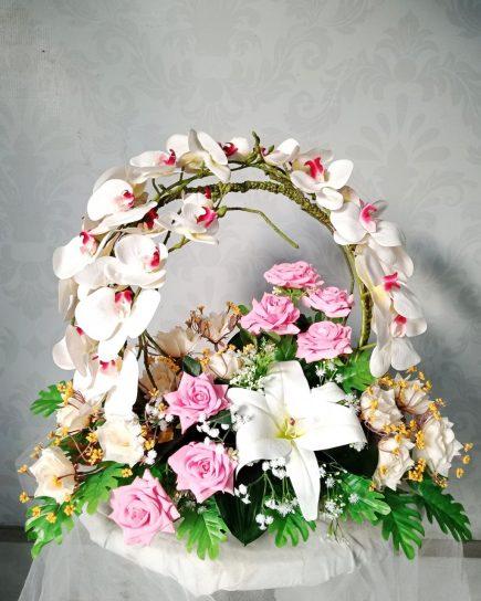 bunga Artificial Surabaya - Blooming Sunset Artificial
