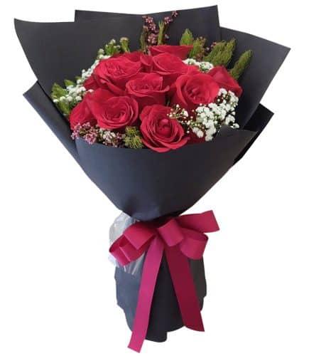 Hand Bucket Surabaya - Rosabelle Bouquet