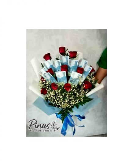 Home Hand Bouquet - Glorious Red Bouquet