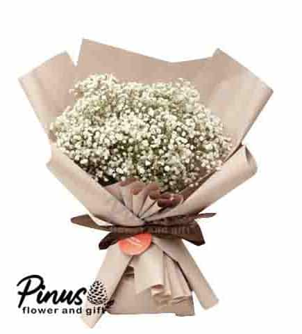 Home Hand Bouquet - Baby Bread Blossom