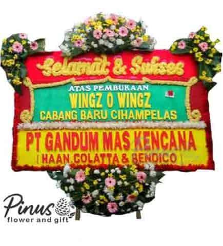 Bunga Papan - Red Success