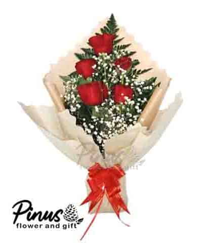 Home Hand Bouquet - Classic Majestic
