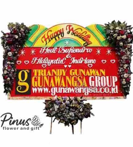 Bunga Papan - Belleza Wedding