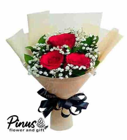 Bunga Ucapan Selamat - Black Lily