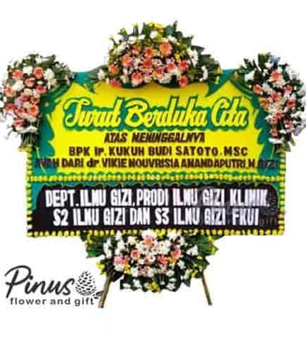 Home Bunga Papan - Peace at Heart