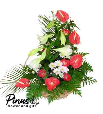 Home Bunga Meja - Personalize Romance