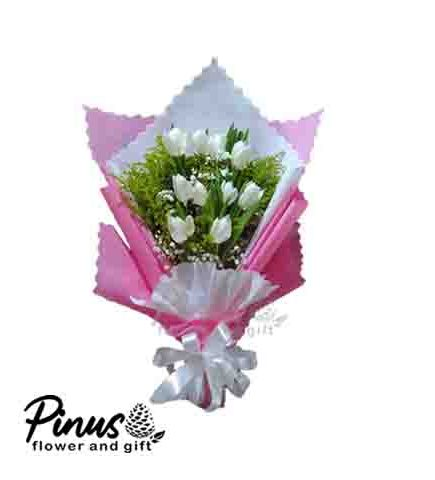 Home Hand Bouquet - Pink Life Beauty