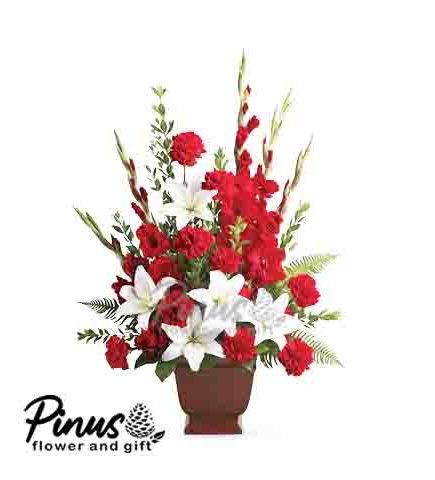 Home Hand Bouquet - Rose Dancing