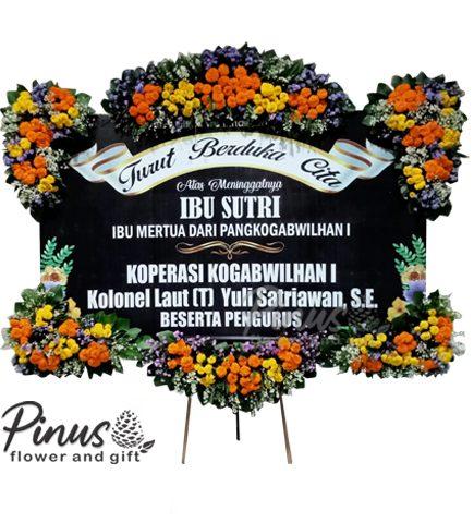Bunga papan duka 4