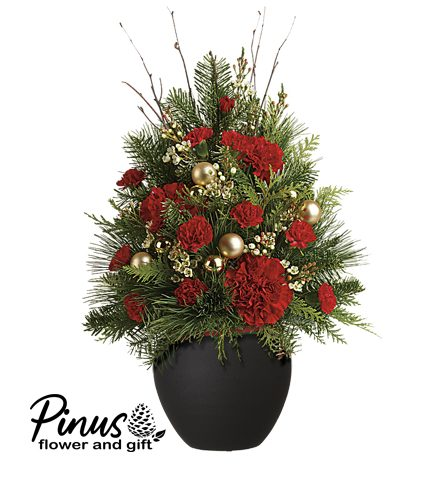 Bunga meja Natal - Awesome Personal Mini Christmas