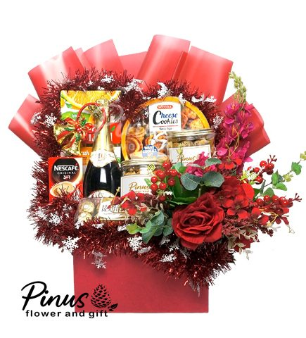 Parcel Natal - Cheerful Red Christmas Gift